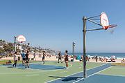 Ocean View Basketball in Laguna Beach
