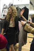 TAMSIN EGERTON, Uniqlo - Japanese store launch party, 311 Oxford Street, London, W1. 6 November 2007. -DO NOT ARCHIVE-© Copyright Photograph by Dafydd Jones. 248 Clapham Rd. London SW9 0PZ. Tel 0207 820 0771. www.dafjones.com.