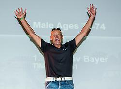 Miroslav Bayer at Trophy ceremony during I feel Slovenia Ironman 70.3 Slovenian Istra 2018, on September 23, 2018 in Koper / Capodistria, Slovenia. Photo by Vid Ponikvar / Sportida