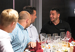 Lee Tomlin of Bristol City mingles with guests during the Lansdown Club event - Mandatory by-line: Robbie Stephenson/JMP - 06/09/2016 - GENERAL SPORT - Ashton Gate - Bristol, England - Lansdown Club -