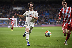 January 24, 2019 - Madrid, Spain - Alvaro Odriozola (midfielder; Real Madrid) in action during Copa del Rey, Quarter Final match between Real Madrid and Girona FC at Santiago Bernabeu Stadium on January 24, 2019 in Madrid, Spain (Credit Image: © Jack Abuin/ZUMA Wire)