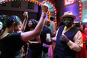 May 19, 2016-Brooklyn, NY: United States- Music Historian/Art Historian/Media Personality Fred Brathwaite aka Fab 5 Freddy attends the 2nd Annual (Museum of Contemporary African Diasporic Art (MoCADA) Masquerade Ball held at the Brooklyn Academy of Music on May 19, 2016 in Brooklyn, New York. (Terrence Jennings/terrencejennngs.com)