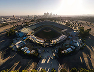 Free Covid 19 virus testing at Dodger Stadium parking lot. Testing is held daily from 8am till 8pm.