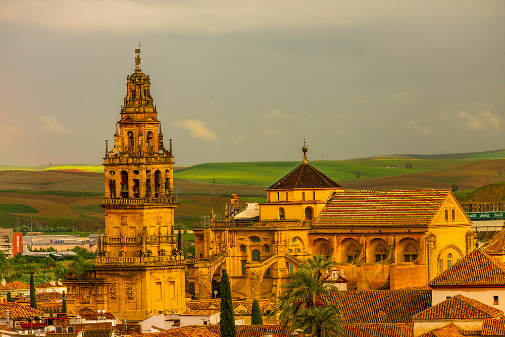 The Mezquita (the Mosque-Cathedral) of Corboba, Cordoba Province,  Spain.