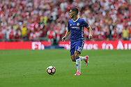 Chelsea's Eden Hazard(10) runs forward during the The FA Cup final match between Arsenal and Chelsea at Wembley Stadium, London, England on 27 May 2017. Photo by Shane Healey.