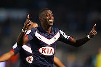 Joie Maxime Poundje - 01.02.2015 - Bordeaux / Guingamp - 23eme journee de Ligue 1 -<br />Photo : Manuel Blondeau / Icon Sport