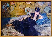 France, Paris (75), zone classée Patrimoine Mondial de l'UNESCO, Musée d'Orsay, La Dame aux eventails, Edouard Manet // France, Paris, Orsay museum, La Dame aux eventails, Edouard Manet
