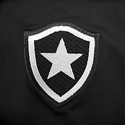 The shirt emblem of Botafogo football team in Rio de Janeiro,  Brazil. 6th September 2010. Photo Tim Clayton.