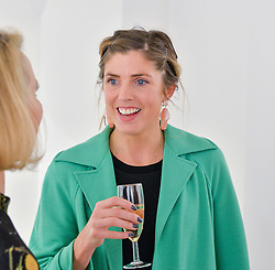Artist GEORGIANA ANSTRUTHER at a private view entitled Stop Making Sense featuring work by Georgiana Anstruther and Carol Corell held at Lacey Contemporary, 8 Clarendon Cross, London on 9th March 2016.