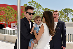 'The Aspern Papers' photocall during the 75th Venice Film Festival. 30 Aug 2018 Pictured: Jonathan Rhys Meyers and family. Photo credit: M. Angeles Salvador/MEGA TheMegaAgency.com +1 888 505 6342