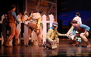 """15 OCTOBER 2009 -- A scene from """"The Adventures of Tom Sawyer -- The Broadway Musical"""" presented by Variety, the children's charity of St. Louis. Image © copyright 2009 Variety, the children's charity."""