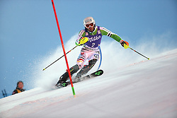 17.11.2013, Levi Black, Levi, FIN, FIS Ski Alpin Weltcup, Levi, Slalom, Herren, 1. Durchgang, im Bild Fritz Dopfer (GER) // Fritz Dopfer of Germany in action during 1st run of mens Slalom of FIS ski alpine world cup at the Levi Black course in Levi, Finland on 2013/11/17. EXPA Pictures © 2013, PhotoCredit: EXPA/ Gunn/ Takusagawa<br /> <br /> *****ATTENTION - OUT of GBR*****