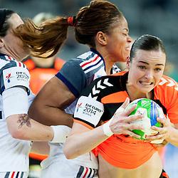 20141217: CRO, Handball - 2014 EHF European Women's Championship, Netherlands vs France