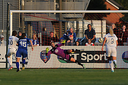 Karen Carney of Birmingham City Ladies scores a penalty to make it 0-2 - Mandatory byline: Dougie Allward/JMP - 07966386802 - 05/09/2015 - FOOTBALL - SGS Wise Campus -Bristol,England - Bristol Academy Womens v Birmingham City Ladies - FA Womens Super League