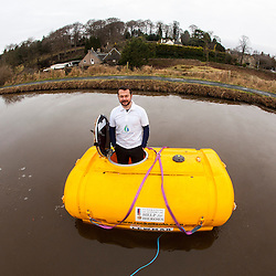 Nick Hancock tests the RockPod for his Rockall Solo Endurance Expedition, Dec 2012