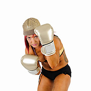 Female Kick Boxer