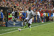 Manchester United Forward Romelu Lukaku during the International Champions Cup match between Barcelona and Manchester United at FedEx Field, Landover, United States on 26 July 2017.