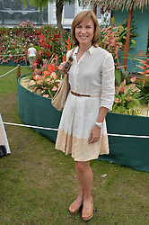 FIONA BRUCE at the 2014 RHS Chelsea Flower Show held at the Royal Hospital Chelsea, London on 19th May 2014.