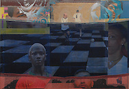 2012  70  x 100 cm Mixed media                                   Paolo Moretto/Mauricio Bustamante