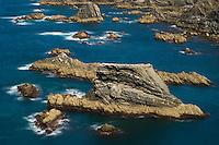 Seascape near Cape - Cabo Sardão. Southwest Alentejo and Vicentine Coast Natural Park, Portugal.
