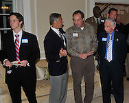 Pat and Alan Spitzer hosted a reception honoring Congresswoman Betty Sutton on October 18, 2010 at their home in Vermilion. In attendance were Majority Leader Steny Hoyer, Vice Chair, Committee on Energy and Commerce DIana DeGette, Jeff Desich, Tony George, Rich Radachi, Lori & Kevin Spitzer, Thomas Theado, Anthony Giardini, Lee Plakas, Pat & Alan Spitzer, Alison Spitzer & Jeremy Swartz and Jacki & Jim Vella. © David Richard
