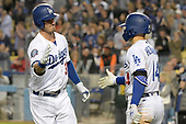 Apr 1, 2018-MLB-San Franisco Giants at Los Angeles Dodgers