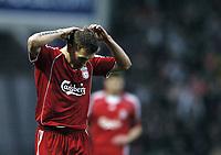 Photo: Jonathan Butler.<br />Blackburn Rovers v Liverpool. The Barclays Premiership. 26/12/2006.<br />Craig Bellamy of Liverpool has an unhappy visit to former club Blackburn Rovers.