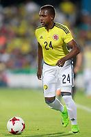 Colombia's Jose Heriberto Izquierdo during international friendly match. June 13,2017.(ALTERPHOTOS/Acero)
