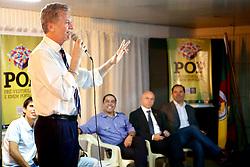José Fortunati durante aula inaugural do POP - Pré-vestibular Popular. FOTO: Jefferson Bernardes/Preview.com