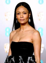 Thandie Newton attending the 72nd British Academy Film Awards held at the Royal Albert Hall, Kensington Gore, Kensington, London.