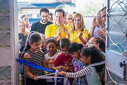 Porto Alegre, RS, 30/04/2019: Em um evento que contou com as presenças da prefeita em exercício, Mônica Leal, do prefeito licenciado, Nelson Marchezan Júnior, e do secretário municipal da Educação, Adriano Naves de Brito, a prefeitura de Porto Alegre inaugurou, nesta terça-feira (30), a Escola Comunitária de Educação Básica (Eceb) Aldeia Lumiar, localizada na rua Dona Paulina, 700, bairro Tristeza. A instituição atenderá inicialmente 199 estudantes em tempo integral: 126 na educação infantil e 73 no ensino fundamental. Foto: Jefferson Bernardes/PMPA