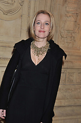 GILLIAN ANDERSON at Cirque du Soleil's VIP night of Kooza held at the Royal Albert Hall, London on 8th January 2013.