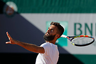 Benoit Paire (FRA) at practice on tennis court 4 during the Roland Garros French Tennis Open 2017, preview, on May 25, 2017, at the Roland Garros Stadium in Paris, France - Photo Stephane Allaman / ProSportsImages / DPPI