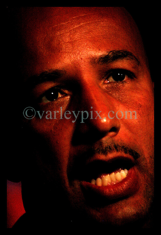 April 22nd, 2006. New Orleans, Louisiana. Voting day. Mayor Ray Nagin speaks to the press after securing a run off with opponent Mitch Landrieu.