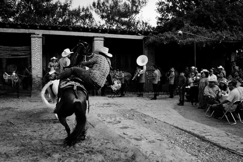 ENG:<br /> A guest try to make something too hard for him and he fall from the horse.<br /> ITA:<br /> Un invitato eccede nelle acrobazie e cade da cavallo