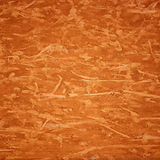 PARIS, FRANCE October 09.  Patterns on the clay court surface during the Novak Djokovic of Serbia match against Stefanos Tsitipas of Greece in the Semi Finals of the singles competition on Court Philippe-Chatrier during the French Open Tennis Tournament at Roland Garros on October 9th 2020 in Paris, France. (Photo by Tim Clayton/Corbis via Getty Images)