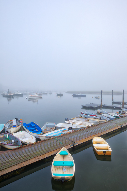 Foggy New England harbor fine art photography of Green Harbor in Marshfield, Massachusetts. The fog beautifully created a serene harbor scenery.<br /> <br /> Foggy New England fine art photography image artwork of Marshfield Green Harbor is available as museum quality photography prints, canvas prints, acrylic prints, wood prints or metal prints. Prints may be framed and matted to the individual liking and decorating needs: <br /> <br /> https://juergen-roth.pixels.com/featured/marshfield-town-landing-juergen-roth.html<br /> <br /> Good light and happy photo making!<br /> <br /> My best,<br /> <br /> Juergen
