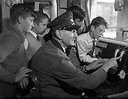 10/09/1959<br /> 09/10/1959<br /> 10 September 1959 <br /> Schoolboys visit Engine Repair Shop at C.I.E., Inchicore, Dublin.