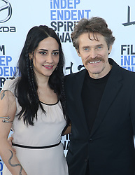 February 8, 2020, Los Angeles, California, United States: 2020 Film Independent Spirit Awards held at Santa Monica Pier..Featuring: Giada Colagrande, Willem Dafoe.Where: Los Angeles, California, United States.When: 08 Feb 2020.Credit: Faye's VisionCover Images (Credit Image: © Cover Images via ZUMA Press)