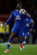 Romelu Lukaku of Everton in action during the English Premier League match at Old Trafford Stadium, Manchester. Picture date: April 4th 2017. Pic credit should read: Simon Bellis/Sportimage