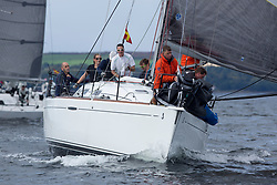 Largs Regatta Week 2017 <br /> Day 1<br /> GBR3627L, Animal, Kevin Aitken, CCC/RNCYC, First 36.7<br /> <br /> Picture Marc Turner