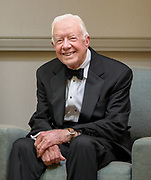 """Backstage portrait with President Carter just prior to receiving this year's """"O'Connor Justice Prize"""".<br /> <br /> Jimmy Carter served as the 39th President of the United States from 1977 to 1981. He was awarded the 2002 Nobel Peace Prize for work to find peaceful solutions to international conflicts, to advance democracy and human rights, and to promote economic and social development. At 92 years old, he is still active in his pursuit of those goals."""