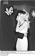Pamela Anderson & Jeff Goldblum  during the Vanity Fair Oscar night party. Mortons. Los Angeles.28 March 1999. 99187f12a<br />© Copyright Photograph by Dafydd Jones 66 Stockwell Park Rd. London SW9 0DA<br />Tel 0171 733 0108<br />www.dafjones.com