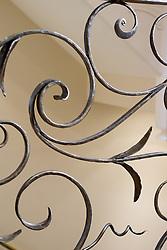 hand made wrought iron railing