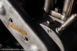 Charles Falco's 1928 Ariel model C on the Motorcycle Cannonball coast to coast vintage run. Stage 14 (303 miles) from Spokane, WA to The Dalles, OR. Saturday September 22, 2018. Photography ©2018 Michael Lichter.