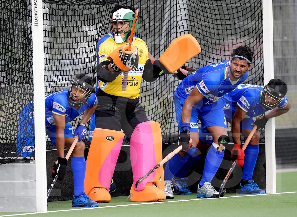ANTWERPEN - 2019 Test Matches: India<br /> Belgium v India<br /> Photo: Krishan Pathak (GK) <br /> WORLDSPORTPICS COPYRIGHT FRANK UIJLENBROEK