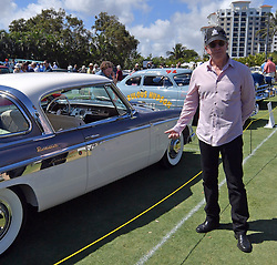 """February 25, 2018 - Boca Raton, Florida, United States Of America - BOCA RATON, FL- FEBRUARY 25: Jay Leno, Wayne Carini and actor Tim Allen judge and host 175 of the finest collector cars and motorcycles from around the country will gather on the show field at the famed Boca Raton Resort & Club. On display at this year's Concours will be an exquisite collection of AACA """"Cars through the Decades,"""" and Lincoln-Mercury vehicles.  The judging process will combine a point/percentage system, along with the Modified French Rule evaluation criteria of the cars condition, authenticity/originality, and appeal in the following areas: the vehicle's exterior, its interior area, the engine area, and the overall presentation, visual impact, and significance of the car at the Boca Raton Resort & Club on February 25, 2018 in Boca Raton, Florida...People:  Tim Allen. (Credit Image: © SMG via ZUMA Wire)"""