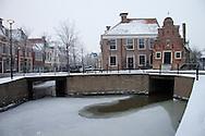 Franeker - centrum met Korendragershuisje