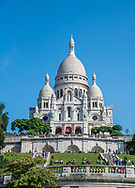 Basilica of the Sacred Heart of Paris, commonly known as Sacré-Cœur.