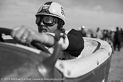 Ready to race at the Race of Gentlemen. Wildwood, NJ, USA. October 10, 2015.  Photography ©2015 Michael Lichter.
